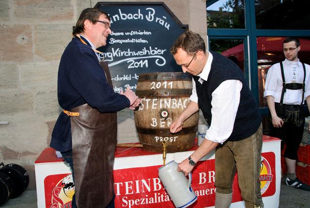 Steinbach Bergbierprobe