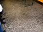 Fassabdrücke auf dem Bitumenboden des Schefflerschen Büttnerkellers