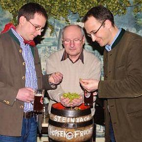 """Steinbach """"Hopfenfrucht"""" - eine neue, obergärige Bierkreation mit Köstlichkeitsfaktor"""