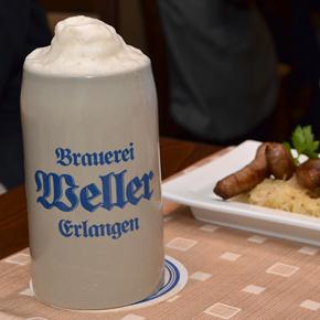 Brauerei Weller beendet das Jubiläumsjahr 2011