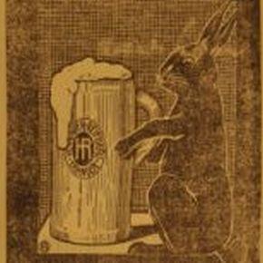 "100 Jahre Henninger Reifbräu ""Oster-Gold"""