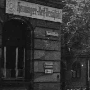 Henninger-Reif-Bräustüb`l in Nürnberg (Oktober 1944)