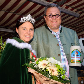 Die 11. Kitzmann Bierkönigin: Cornelia I.