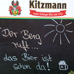 Vitale Hefe aus eigener Reinzucht: Das Kitzmann-Bergkirchweihbier 2011