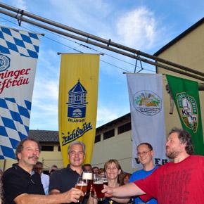 Sommerfest der Hobbybrauer in der Klostermalz Frauenaurach
