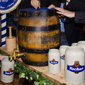 Tucher Festbierprobe für die Bergkirchweih 2012