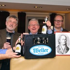 """Das Erlanger Bier """"stärkend und begeisternd"""" - Jean Paul Bier"""