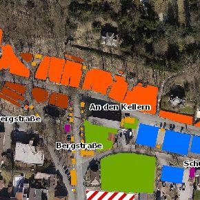 Stadt Erlangen bringt neue Online-Karte des Bergkirchweihgeländes