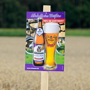 Erlanger Weizen für Erlanger Weizenbier: Wissenswertes beim Weizenfeldbesuch am 16. Juli 2014 zwischen Kriegenbrunn und Hüttendorf
