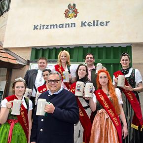 15. Kitzmann Bierkönigin Mia I. ruft zum Stammtisch am Berg: Feiern mit Vorgängerinnen und Freunden