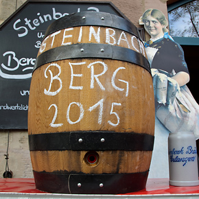 Steinbach-Bergbierprobe am Tag des Bieres, 23. April 2015