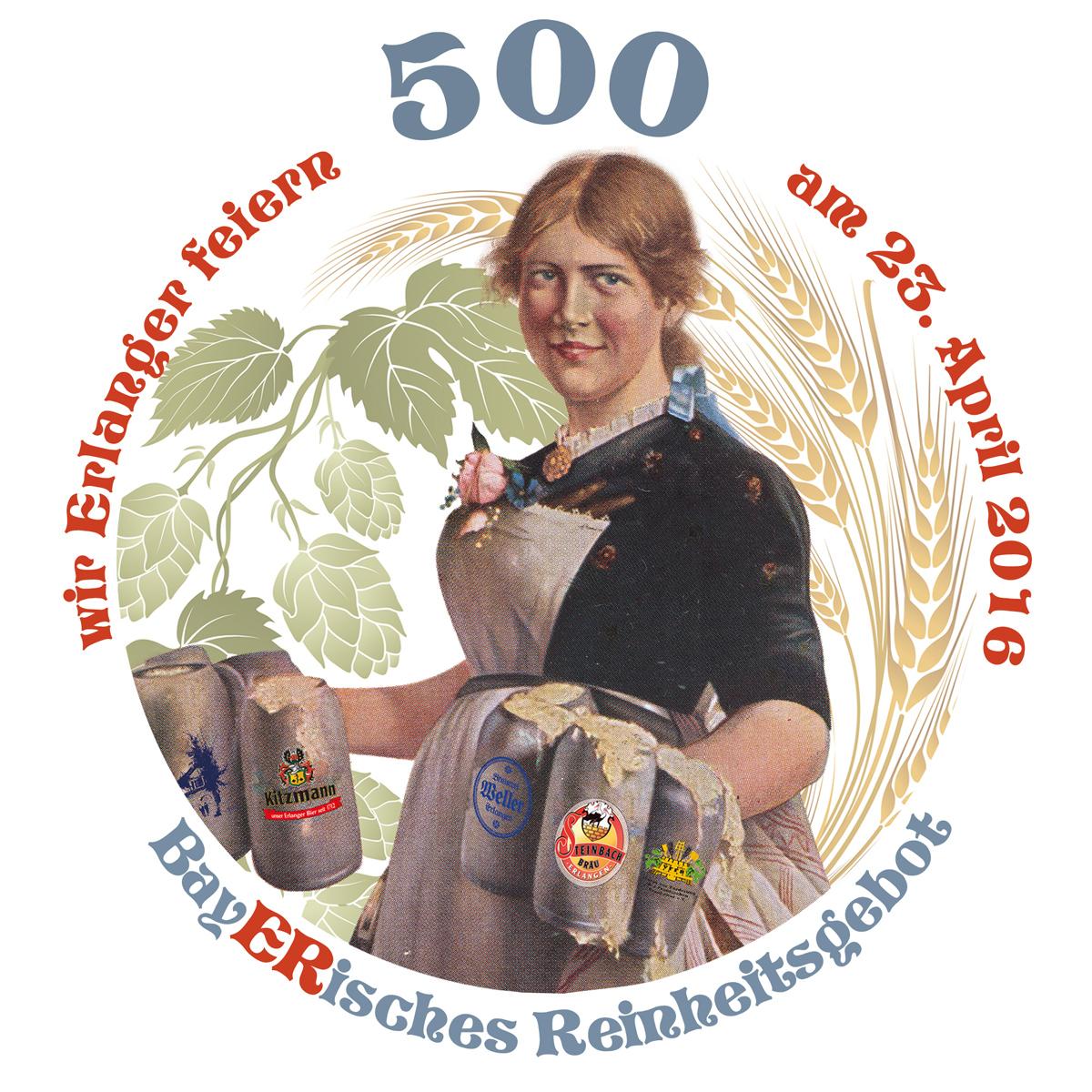 Programm 500 Jahre Reinheitsgebot in Erlangen